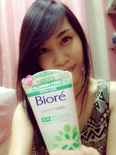 Biore Skin Caring series Acne facial wash