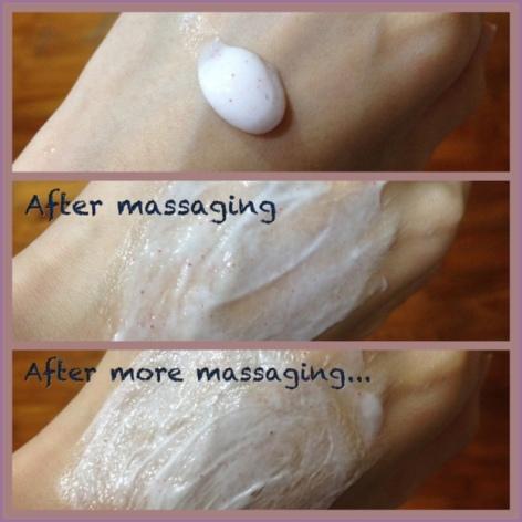 Biore Skin caring series facial scrub