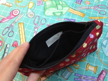zippered pouch with divider tutorial