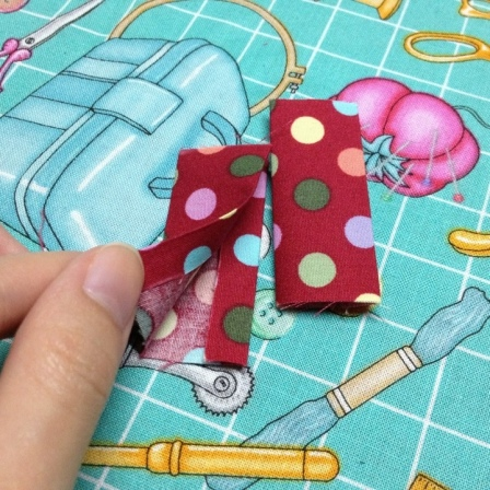 zipper ends zippered pouch with divider tutorial