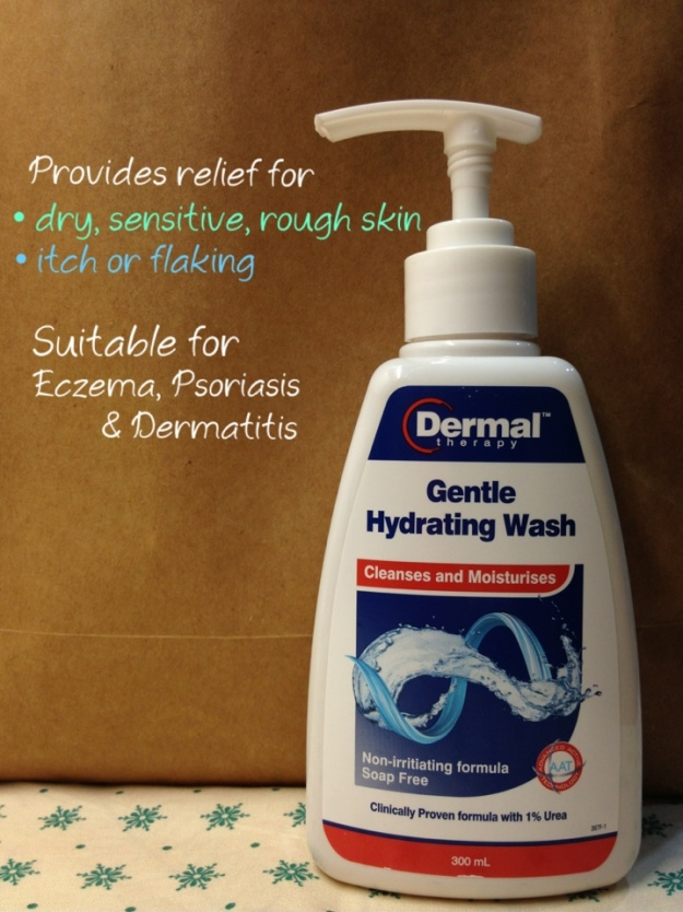 Dermal Therapy Gentle Hydrating Wash review