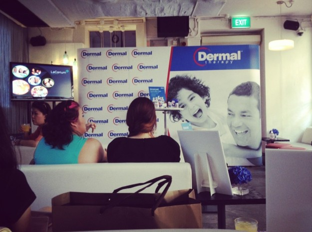 Dermal Therapy launch in Singapore