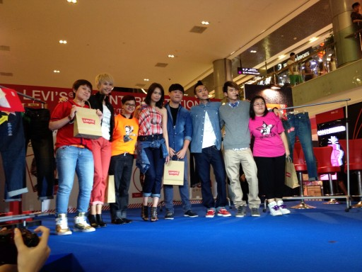 Levi's 501 Interpretation fashion event at Ion orchard