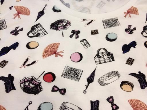 Laduree and Uniqlo Tshirt