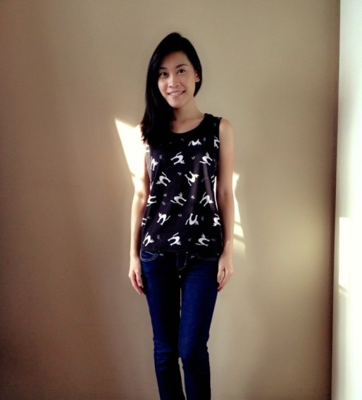 Uniqlo tshirt Lulu Guinness singapore