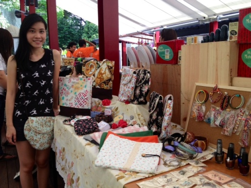 Beary naise first flea market booth singapore pandora dempsey