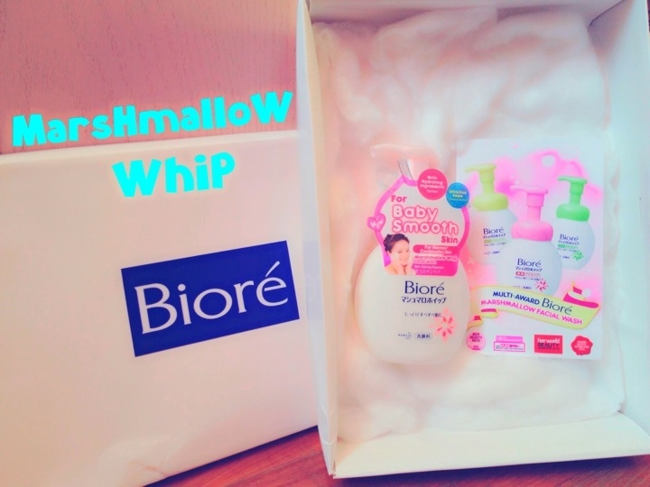 Beauty Review *NEW* Biore Marshmallow Whip Facial Wash - Mypeaceofheaven