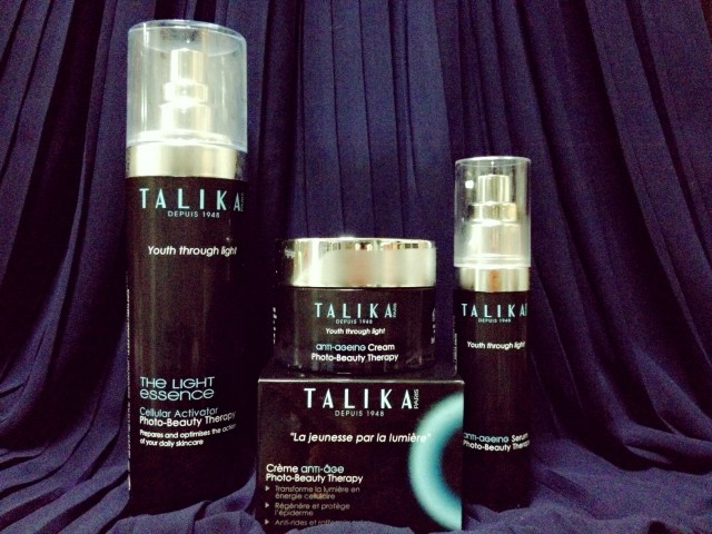 Talika Photo-beauty Therapy Anti-ageing Line review