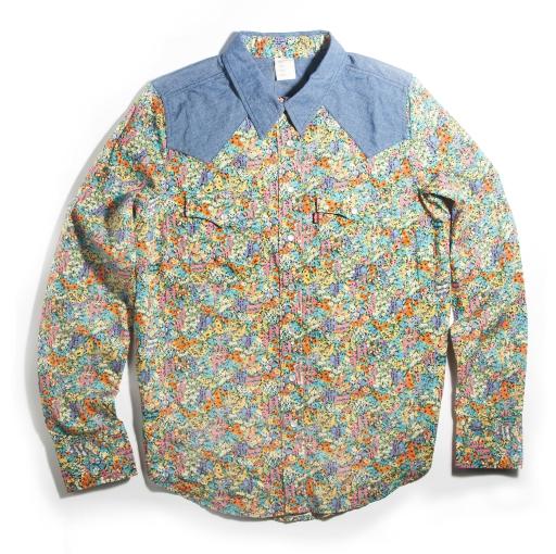 Levi's x Liberty London collection 2013 western shirt $289.90