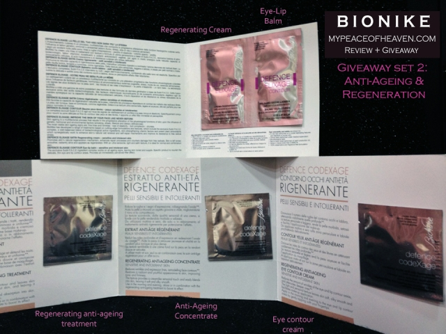 Bionike Defence Elixage Anti-ageing range for sensitive skin review + giveaway