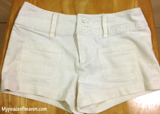 DIY Ombre shorts Singapore Craft/DIY blog
