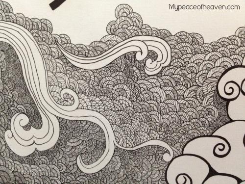 CHIJ TP AEP Artwork Pen Strokes