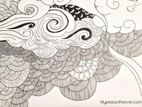 CHIJ AEP Artwork Pen Strokes