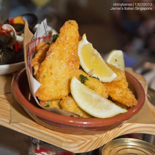 [Food] Jamie's Italian Singapore Fish Platter