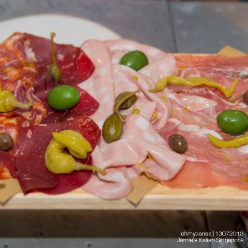 [Food] Jamie's Italian Singapore Cured meats