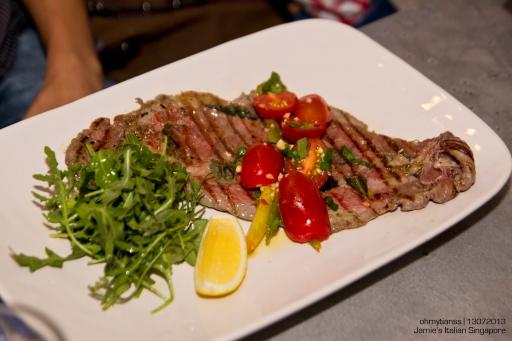 [Food] Jamie's Italian Singapore Veal Flash Steak