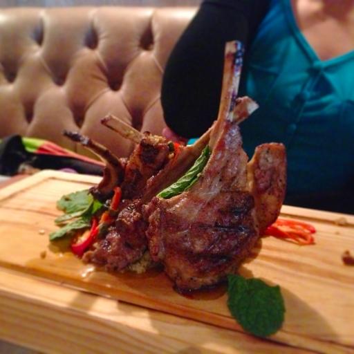 [Food] Jamie's Italian Singapore Lamb Chop Lollipops