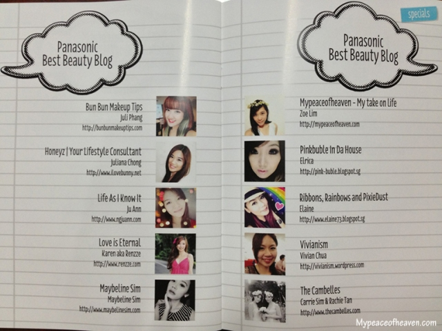 Singapore Blog Awards 2013 Best Beauty Blog