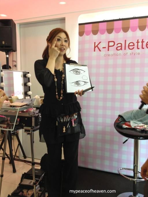 K-Palette Makeup Demonstration Event Sasa Singapore