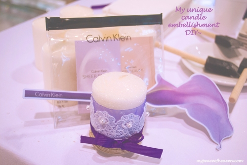 DIY Candle Embellishment