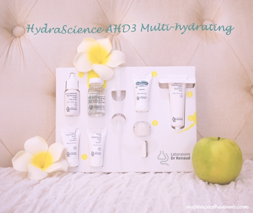 Kéring Skin Singapore Dr Renaud Hydrascience AHD3 Multi-Hydrating facial treatment set