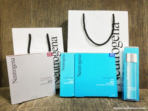 Neutrogena goody bag