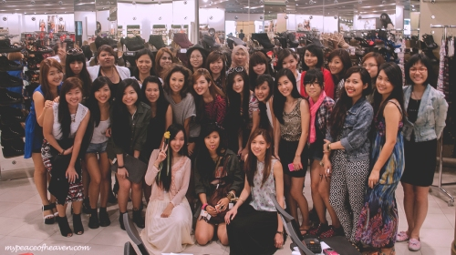 Bloggers at NEW LOOK Suntec City Singapore