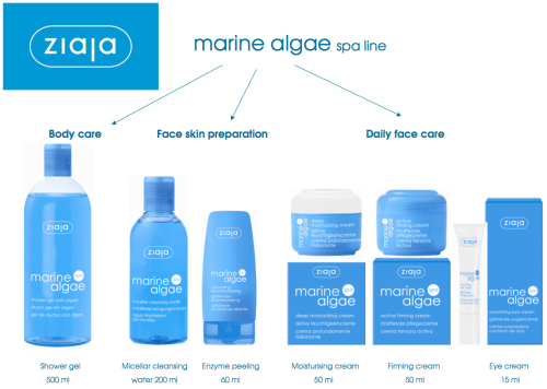 [Beauty Review] Ziaja Marine Algae Shower Gel and Deep Moisturising Cream