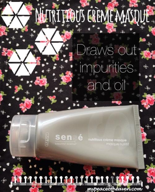 [Beauty Review] Sense Skincare Usana Nutritious Creme Mask